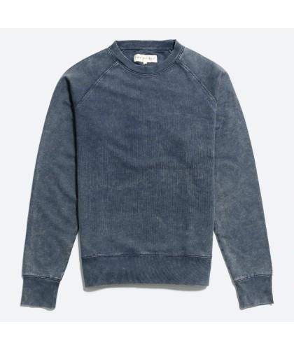 Sweatshirt Marine Délavé...