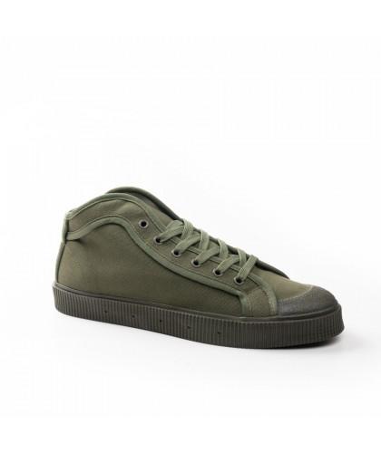 Chaussures en toile vert...