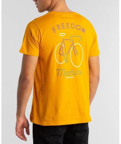 T-shirt bio jaune Freedom...
