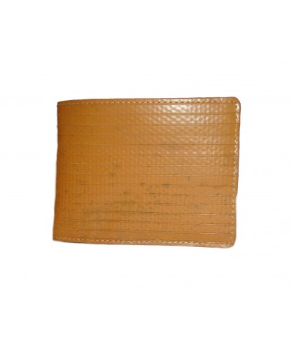 Yellow fire hose wallet with coin pocket - Elvis&Kresse