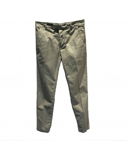 "Chino gabardine légère Kaki ""Willow"" Haikure"