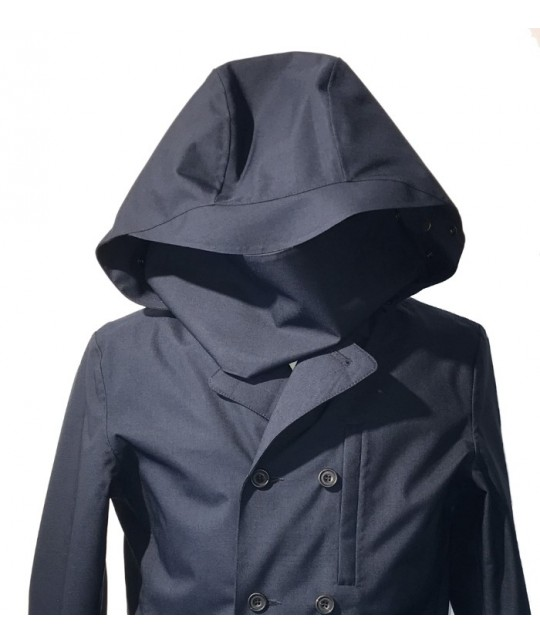 Caban imperméable Double Breasted Marine NORWEGIAN RAIN