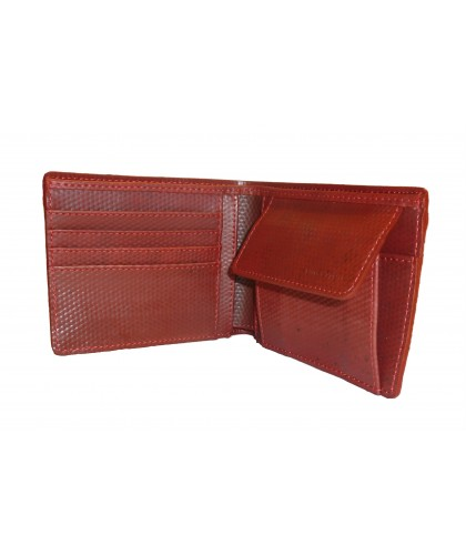 Fire hose Wallet with coin...