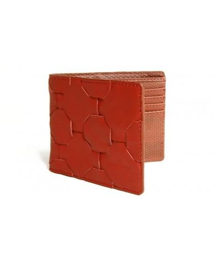Fire & Hide Red Upcycled Wallet ELVIS & KRESSE