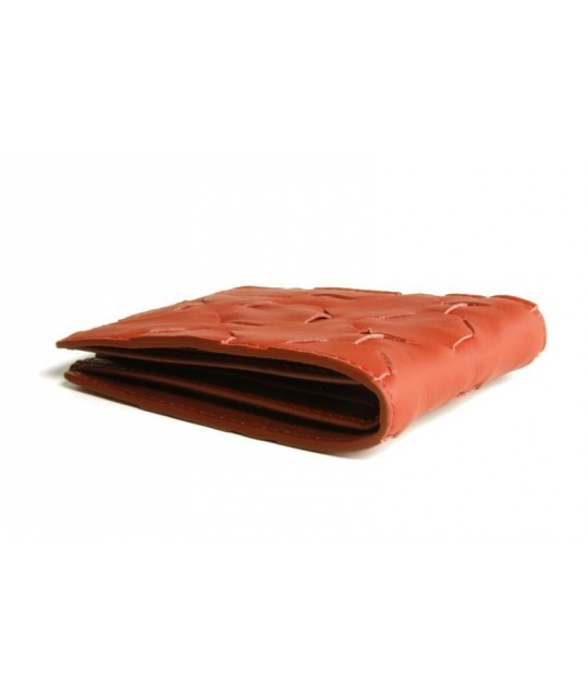 Portefeuille Fire & Hide rouge ELVIS & KRESSE