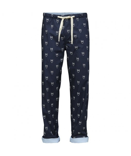 Pyjama (pantalon + t-shirt) en coton bio KNOWLEDGE COTTON APPAREL