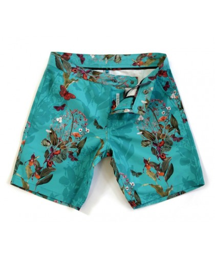 Recycled Braunton Endangered Flowers Swim Shorts RIZ BOARDSHORTS