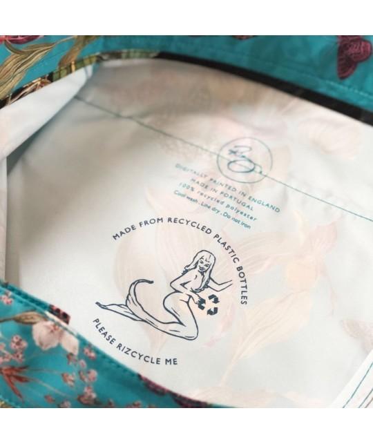 Recycled Braunton Endangered Flowers Swim Shorts RIZ BOARDSHORTS