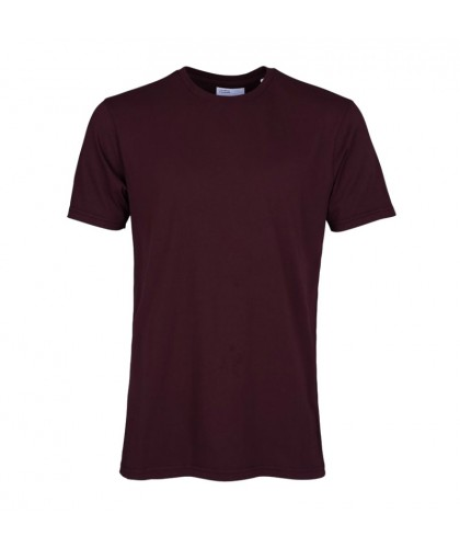 Organic Oxblood Red Tee COLORFUL STANDARD