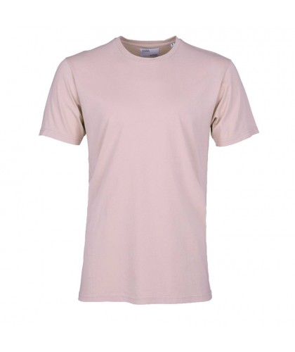 T-shirt Coton Bio Faded Pink COLORFUL STANDARD