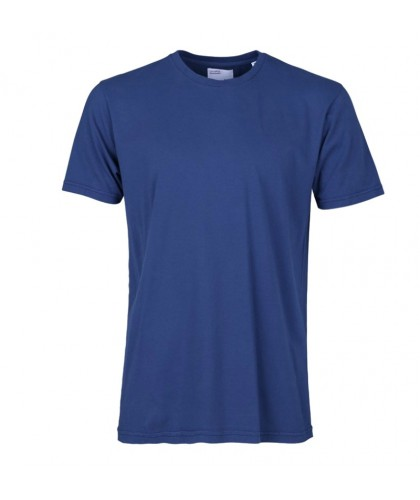 Organic Royal Blue Tee COLORFUL STANDARD