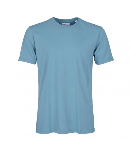 T-shirt Coton Bio Stone Blue COLORFUL STANDARD