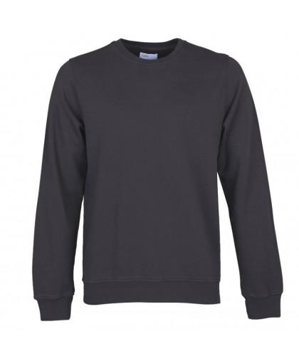 Unisex Organic Lava Grey Crewneck Sweatshirt COLORFUL STANDARD