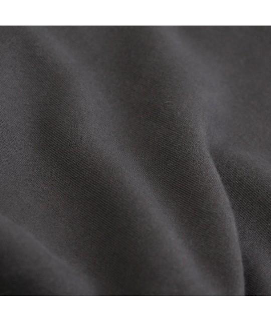 Hoodie zippé unisexe Coton Bio Lava Grey COLORFUL STANDARD
