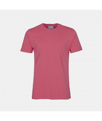 T-shirt Unisexe Coton Bio Raspberry Pink COLORFUL STANDARD