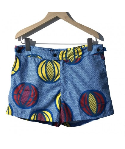 Short de bain court Melon Blue ÒKUN