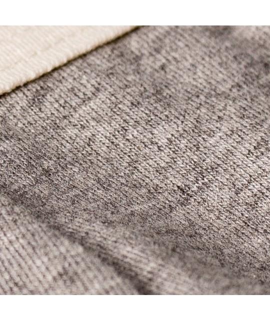 Boxer coton bio Marti gris chiné HEMEN
