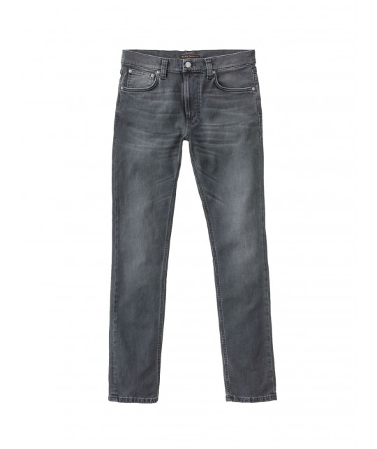 Lean Dean Mono Grey Organic Cotton Jeans NUDIE JEANS