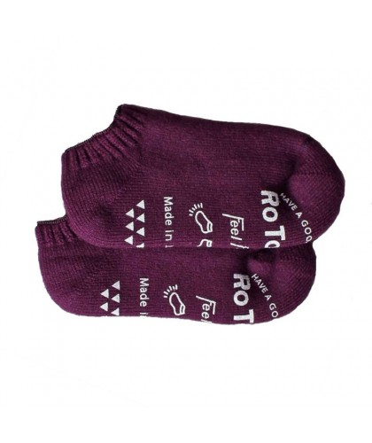 Purple slipper socks ROTOTO
