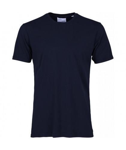 T-shirt Coton Bio Navy Blue COLORFUL STANDARD
