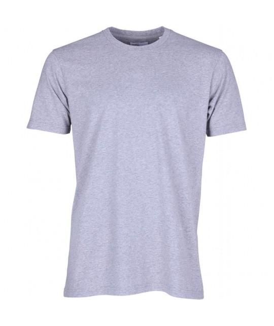 T-shirt Coton Bio Gris Chiné COLORFUL STANDARD