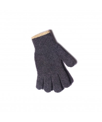 Gants en laine gris 'Wind it up' HOWLIN'
