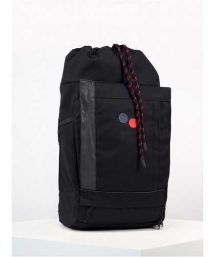 Sac à dos noir Blok Medium Licorice Black PINQPONQ