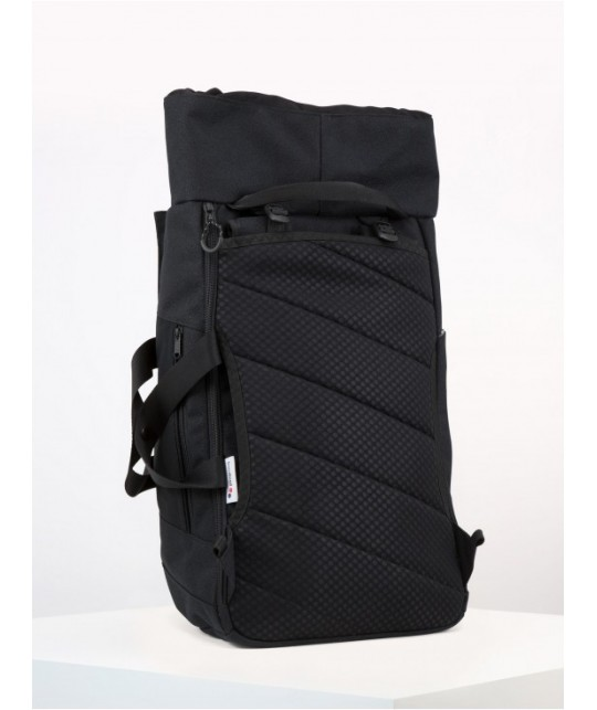 Blok Large Licorice Black Bold Backpack PINQPONQ
