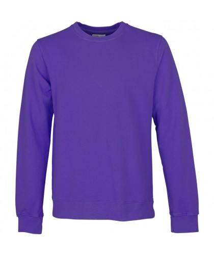 Sweatshirt Coton Bio Ultra Violet COLORFUL STANDARD