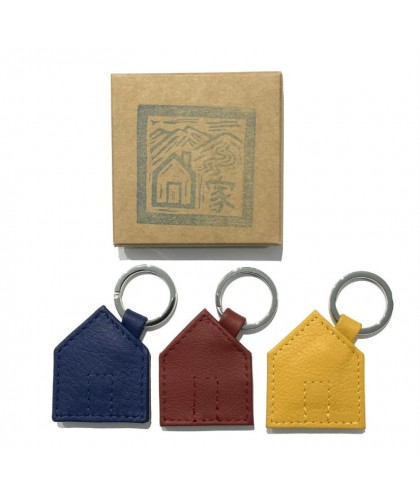Haus Leather Keychain HERR PONG