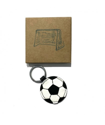 Football Leather Keychain HERR PONG