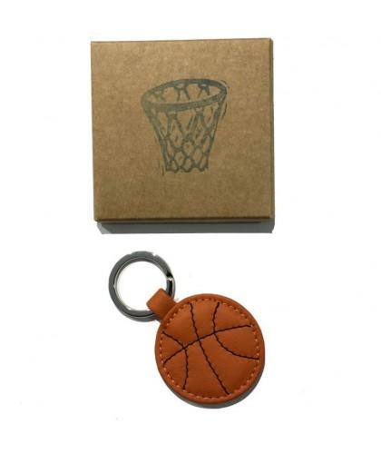 Porte-clés en cuir Basket-Ball HERR PONG