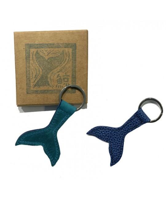 Porte-clés en cuir Baleine HERR PONG