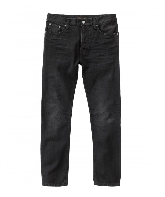 Fearless Freddie Authentic Black Organic Cotton NUDIE JEANS