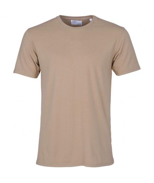 T-shirt Coton Bio Desert Khaki COLORFUL STANDARD