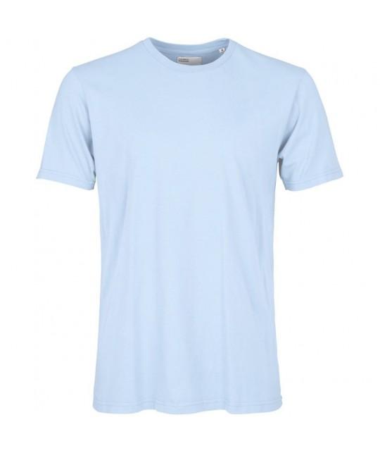 T-shirt Coton Bio Polar Blue COLORFUL STANDARD