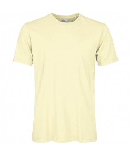 T-shirt Coton Bio Soft Yellow COLORFUL STANDARD