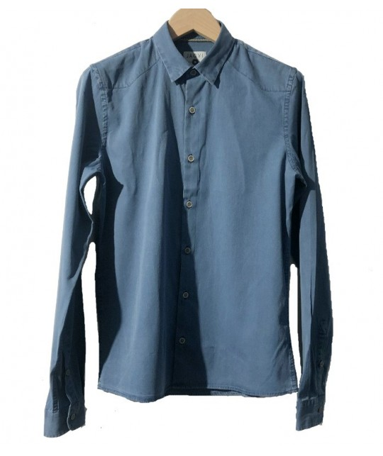 Washed Blue Denim Shirt JAGVI