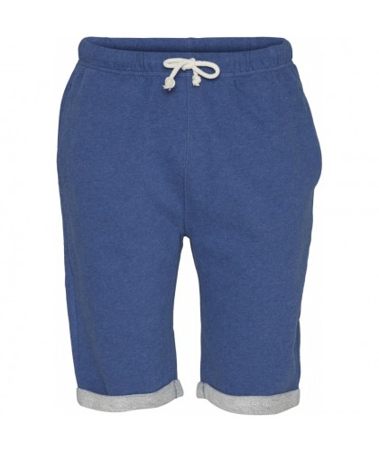 Blue organic sweatshorts KNOWLEDGE COTTON APPAREL