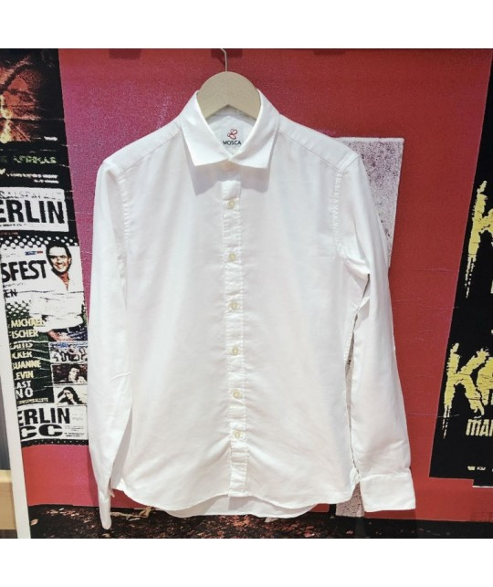 White Oxford Shirt MOSCA