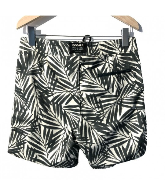 Recycled Leaves Pattern Swim Shorts ECOALF