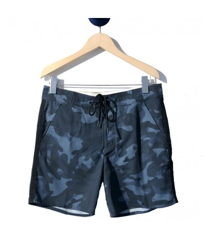 Blue Camouflage Recycled Swim Shorts ECOALF