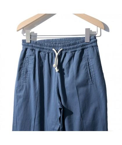 Pantalon Lemos bleu-gris LA PAZ