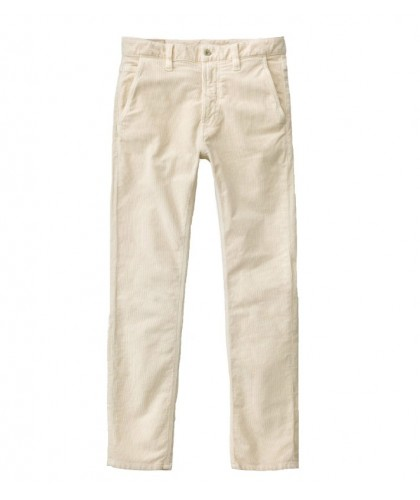 Slim Adam Off-white Stretch Cord trousers NUDIE JEANS