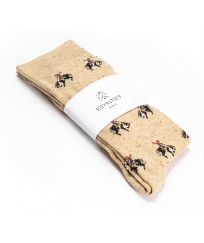 Chaussettes Rodeo Beige ROYALTIES