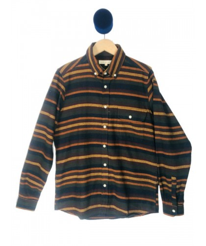 Striped Flannel Shirt FAR AFIELD