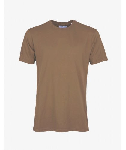 T-shirt Coton Bio Sahara Camel COLORFUL STANDARD