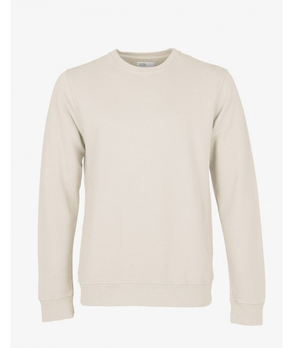Organic Ivory White Sweatshirt COLORFUL STANDARD