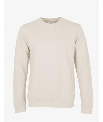 Sweatshirt Coton Bio Ivory White COLORFUL STANDARD