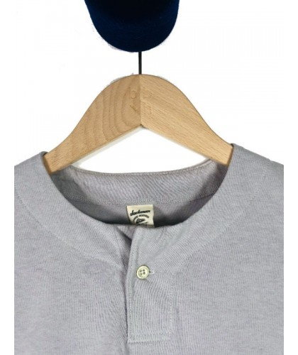 Light Grey Henley JACKMAN